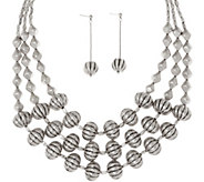 Linea by Louis DellOlio Riviera Maya Necklace and Earring Set - J352566