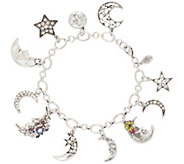 Kirks Folly Moon Shadow Charm Bracelet - J353066