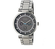 Simplify Stainless Bracelet Watch with Gray Dial - J380366