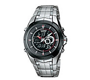 Casio Mens Twin Chronograph Watch with Thermometer - J103467