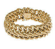 Arte dOro 8 Polished Figure-Eight Bracelet, 18K, 30.0g - J305767