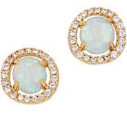 Melinda Maria Simulated Halo Stud Earrings -Penelope - J355667