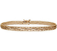 Imperial Gold 7-1/4 Mirror Bar Bracelet 14K, 13.8g - J388767