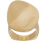 Bronzo Italia Organic Oval Bronze Ring - J357868