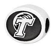Sterling Silver Tulane University Bead - J300769