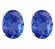 Premier 2.00 cttw Oval Tanzanite Stud Earrings,14K - J336169