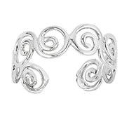 Polished Swirl Toe Ring, 14K Gold - J336469