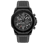 Bulova Mens Marine Star Chronograph Silicone Bracelet Watch - J384469