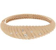 Grace Kelly Collection Trumpet Ribbed Bangle Bracelet - J355270