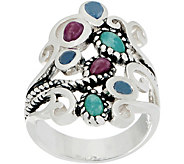Or Paz Sterling Silver Multi-gemstone Ring - J356370