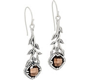 Or Paz Sterling Silver Cushion Cut Gemstone Dangle Earrings - J360070