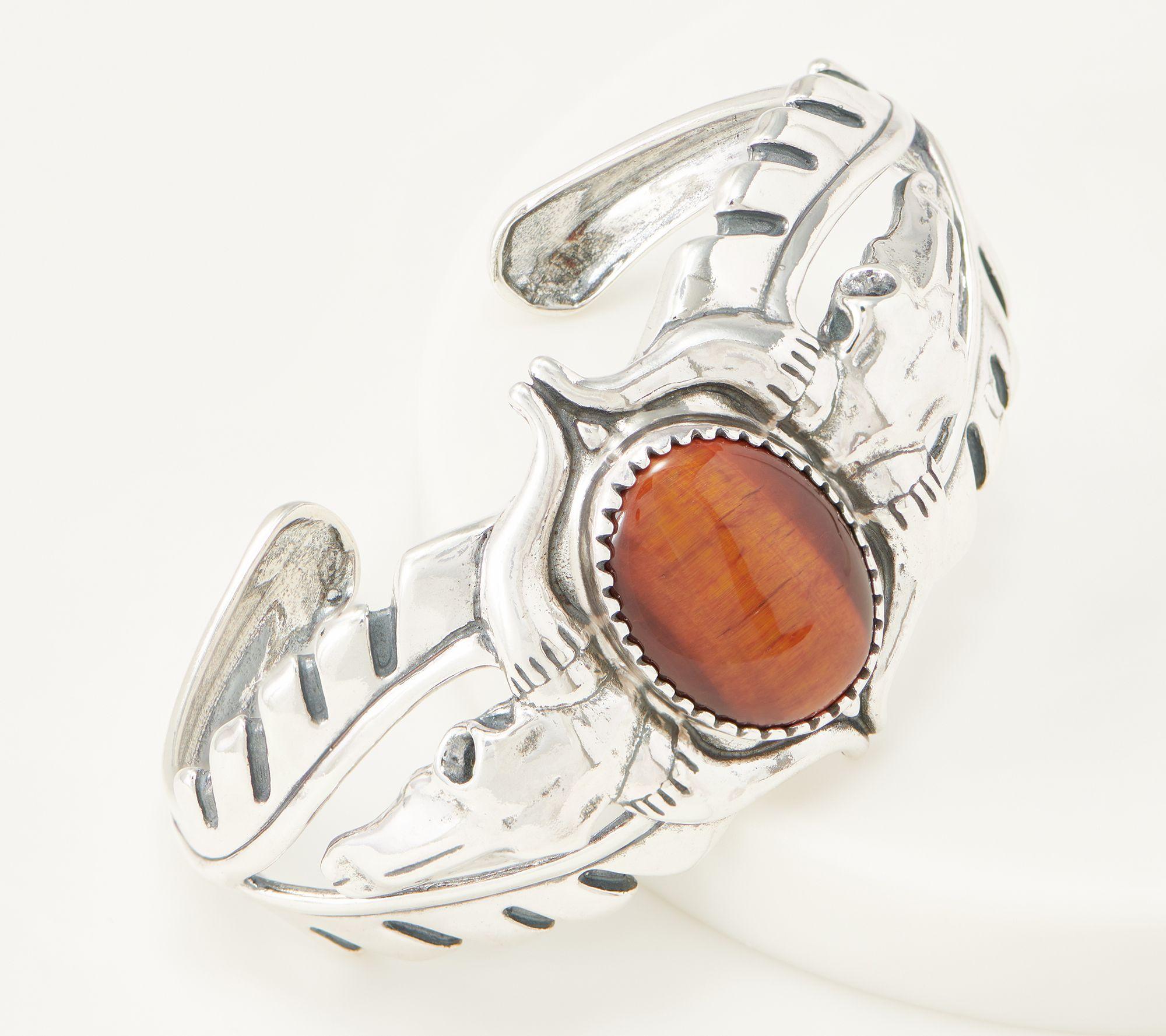 $53 off a sterling silver oval gemstone bracelet
