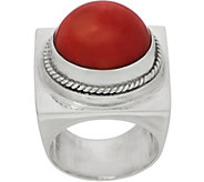 EXEX by Claudia Agudelo Sterling Silver & Gemstone Cabochon Ring - J350871