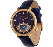 Judith Ripka Stainless Steel Goldtone Evil Eye Watch - J358471