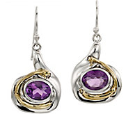 Hagit Sterling & 14K Gold Gemstone Dangle Earrings - J386671