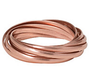Linea by Louis DellOlio Copper Ox Rolling Bangle Bracelet - J390571