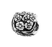 Prerogatives Sterling Floral Bead - J108572