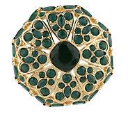 Luxe Rachel Zoe Floral Pave Lace Pin/Enhancer - J154772