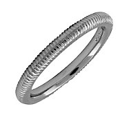 Simply Stacks Sterling Black Rhodium-Plated 2.25mm TextureRing - J298872