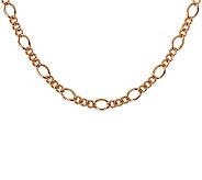 Bronzo Italia 16 Fancy Curb Link Necklace - J311772