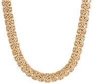 14K Gold 20 Bold Byzantine Necklace, 32.5g - J355072