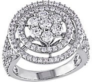 Diamond Floral Engagement Ring, 14K, 2 cttw, byAffinity - J376572
