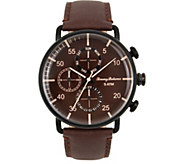 Tommy Bahama Puako Multifunction Brown Strap Watch - J379772