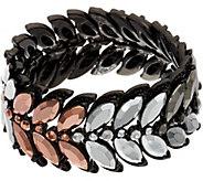 LOGO Links by Lori Goldstein Feather Stretch Bracelet - J348973