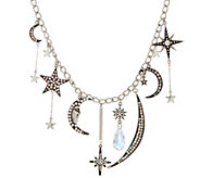 Kirks Folly Astral Moon Goddess Charm Necklace - J351473