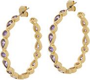 Melinda Maria Hoop Earrings - Eva - J352173