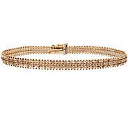 Imperial Gold 7-1/4 Wheat Bracelet 14K, 10.6g - J388773