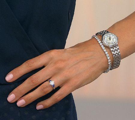 Diamonique Simulated Diamond Tennis Bracelet Platinum Clad Page