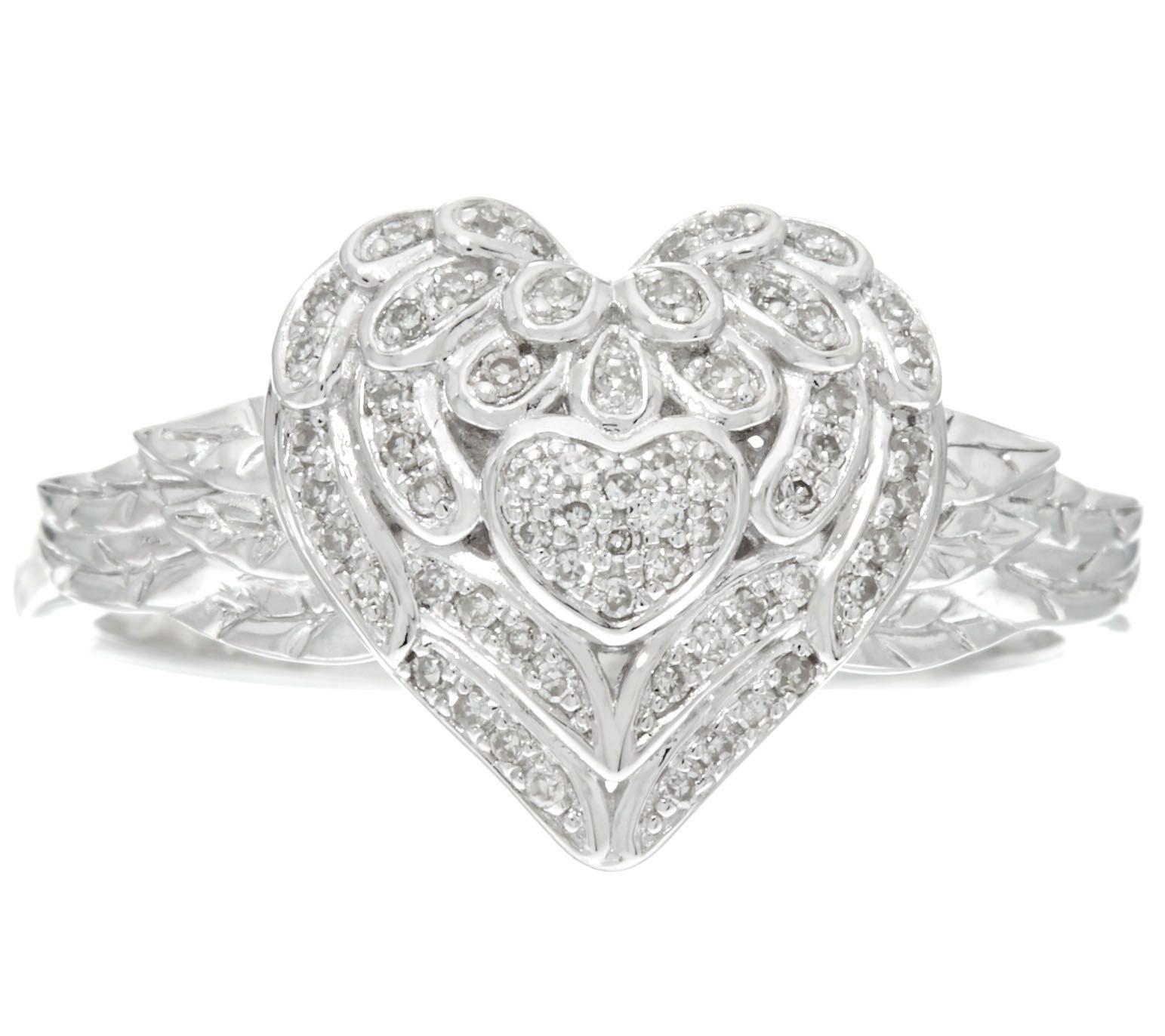 New Wedding Ring Heart