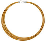 ALOR Cable Stainless Steel 30-Strand Necklace - J353174