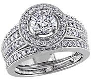 Affinity 1.45 cttw Diamond Bridal Ring Set, 14K - J391874
