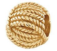 Prerogatives Gold-Plated Sterling Ball of YarnBead - J302675
