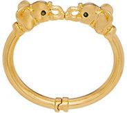 Oro Nuovo Gemstone Accent Animal Cuff, 14K - J357275
