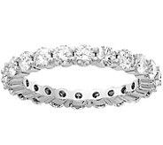 Moissanite 2.20 cttw Eternity Band Ring, 14K Gold - J388375