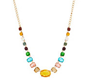 LOGO Links by Lori Goldstein Colorful Estate Necklace - J352376