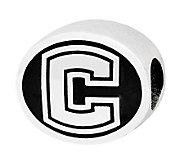 Sterling Silver University of Connecticut Bead - J300777