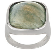 Bronzo Italia Cabochon Gemstone Bronze Ring - J357877