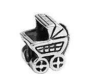 Prerogatives Sterling Baby Carriage Bead - J108978