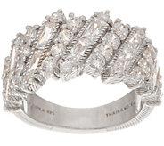 Judith Ripka Sterling 2.65 cttw Diamonique Ring - J354878