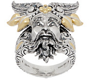 Barbara Bixby Sterling Silver & 18K Gold Figural Ring - J357178