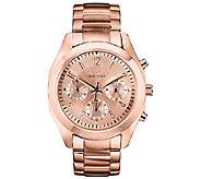 Caravelle New York Womens Rosetone Bracelet Watch - J336579
