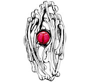 Hagit Sterling Silver Cultured Freshwater PearlRing - J345079