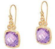 Adi Paz Cushion Cut Gemstone & Diamond Earrings, 14K - J348079