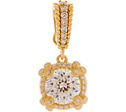 Judith Ripka 14K Clad 2.45 cttw Diamonique Enhancer - J350279