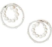 Judith Ripka Sterling Cultured Freshwater Pearl Earrings - J355079
