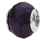 Prerogatives Sterling Purple Quartz Gemstone Bead - J298180